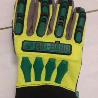 """Safety Glove """"Rig Hand"""""""