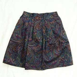 Vintage Detailed Skirt