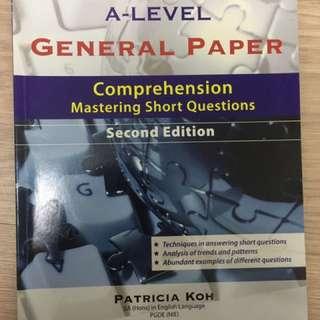 A Levels GP Comprehension Saq Guide