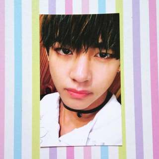 [Official Photocard] BTS HYYH/ITMFL Pt 2 - V/Taehyung