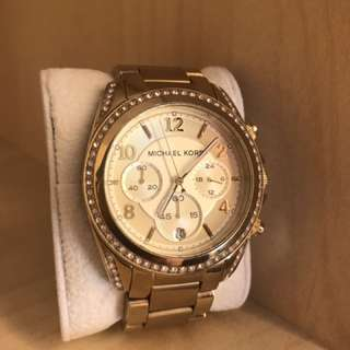 PRICE REDUCTION: Micheal Kors Gold Watch