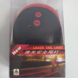 Laser Tail Light For Night Cycling Safety