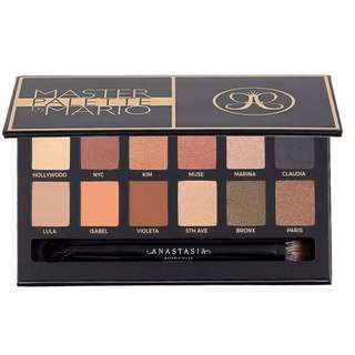 Anastasia Master Palette by MARIO 12 colors