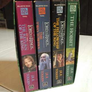 Lord Of The Rings Set Book