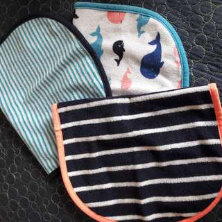 PL Carters 3 Pc Bibs