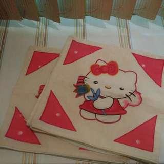 Hello Kitty Throw Pillowcase 5pc Set