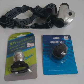 Bicycle Lights (Clip On Bicycle Lights, Overhead Lights)
