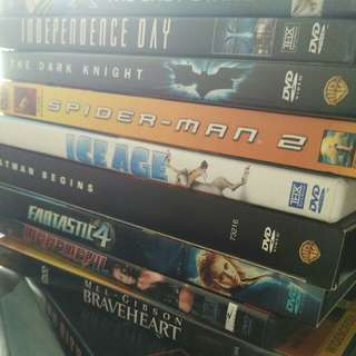 Assorted Region 1 (USA) DVDs (Discounts With Bulk Purchases)