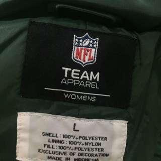 PARKA NFL TEAM GREEN BAY PACKERS UKURAN L