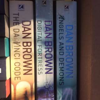 Dan Brown Series - 3 Books