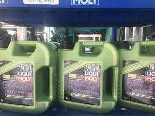 LIQUI MOLY MOLYGEN 5W40 FULLY ENGINE OIL 4LITER