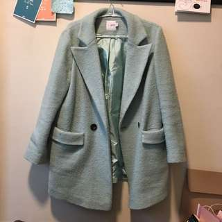 Duck Egg Blue Coat
