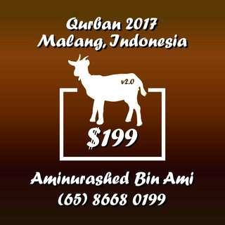 Qurban & Aqiqah 2017
