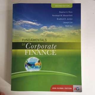 Fundamentals Of Corporate Finance, FIN2004