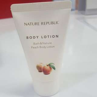 Nature Republic Body Lotion