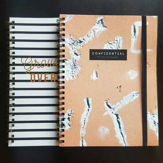 "Typo ""Confidential"" and ""Growing Up is Overrated"" Notebook (Set of 2)"