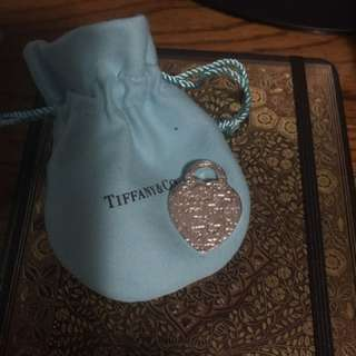 Replica Tiffany Love Notes Charm