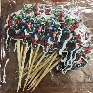 Marvel Cake Decoration Inserts