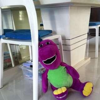 Barney Soft Toy FREE