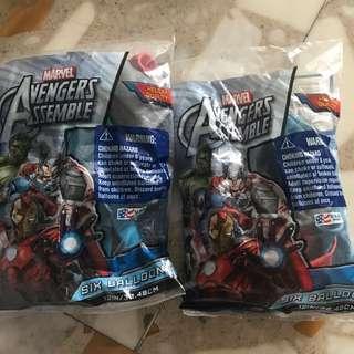Avengers Superhero Balloons