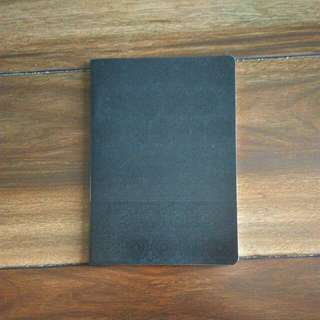 Black Lined Notebook