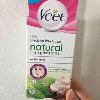 Veet Wax Strips Face Box