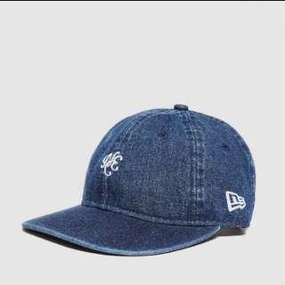 Instock New Era 9Fifty Indigo Denim Blue Baseball Cap / SnapBack / Hat