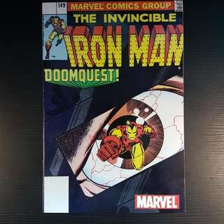 The Invincible Iron Man 149 Doom Quest Comic Marvel Group Comics