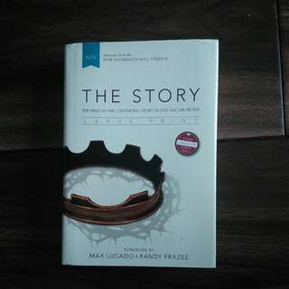NIV The Story (Large Print)
