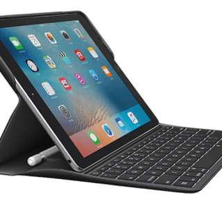 "🍑 Logitech Create Keyboard Case + Smart Connector (iPad Pro 9.7"" - BLACK)"