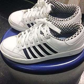 K-Swiss 真皮休閒鞋