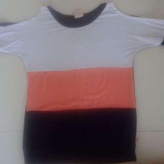 Semi Offshoulder Shirt