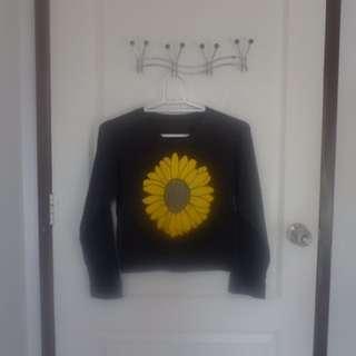 Sunflower Croptop Longsleeve