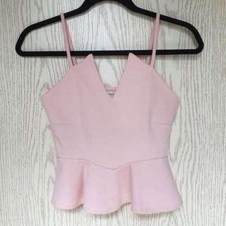 特別款🈹粉紅色吊帶背心