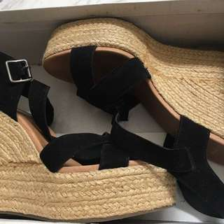Wedges Black Topshop