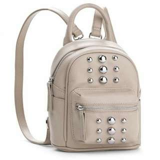 BNEW Steve Maiden Mini stided Backpack Taupe