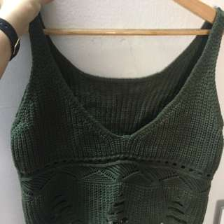 Knitted Singlet / Outerwear