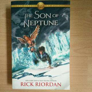 Novel Import The Son Of Neptune