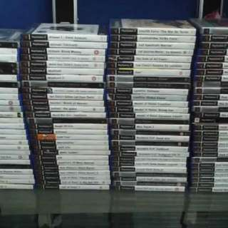 PS2 + PS3 Games Grabbags