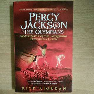 Novel Terjemahan Percy Jackson & The Olympians .the Battle Of The Labyrinth