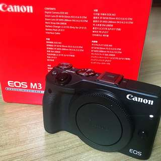 Canon EOS M3 (body Only)*RESERVED*