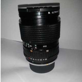 TAMRON 62mm Lens with cap