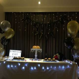 Fairy lights LED rental x2
