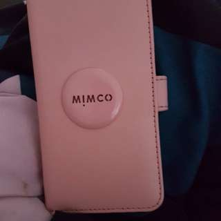 iPhone 7 Mimco Flip Case Blush