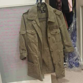 green jacket size 6