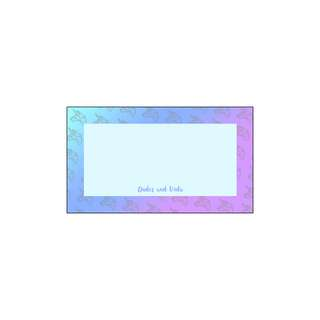 Personalized Gift Tags - Unicorn Gradient