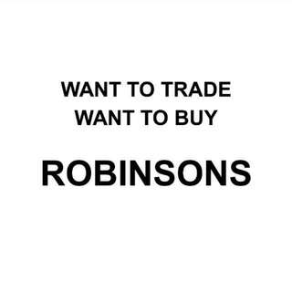 Buy OR TRADE ROBINSONS VOUCHERS For NTUC