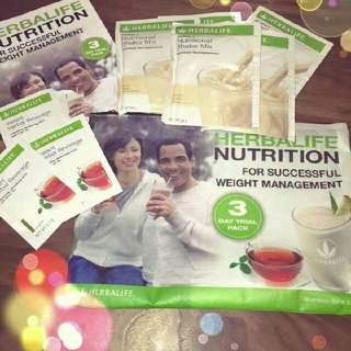 3 Day Trial Herbalife Pack