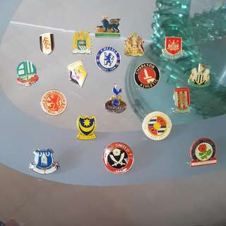 English Premier League Pin-Badges (2006-2007)