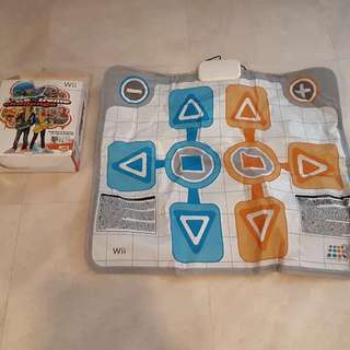 Wii Active Life Extreme Challenge Game and Mat Controller